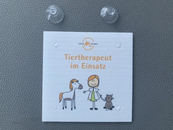 Tiertherapeut im Einsatz