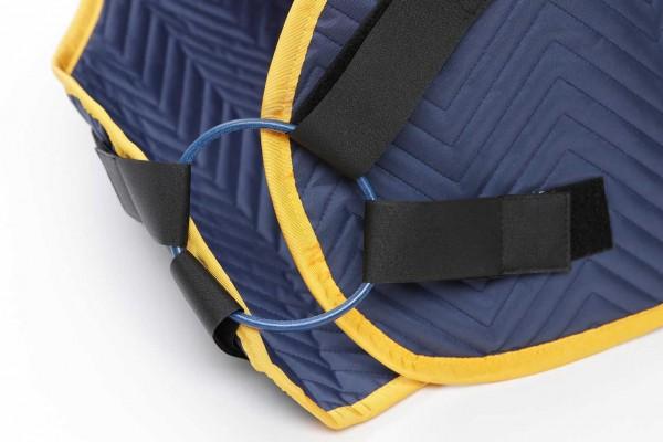 Brustverschluss-Lederring für equimag Magnetfeldtherapie