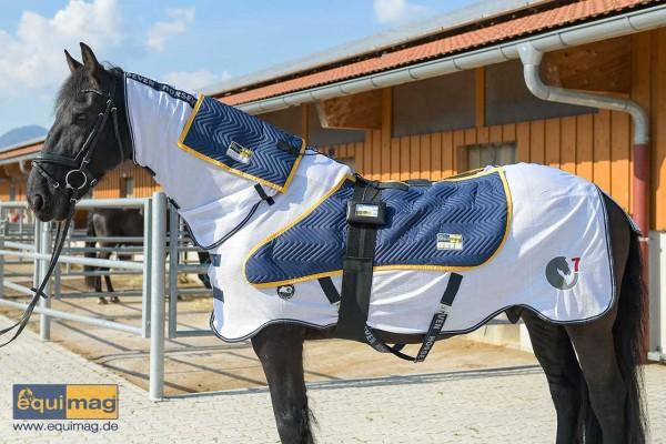 equimag Magnetfeldtherapie expert Air - Komplett-Set für Pferde im Sommer