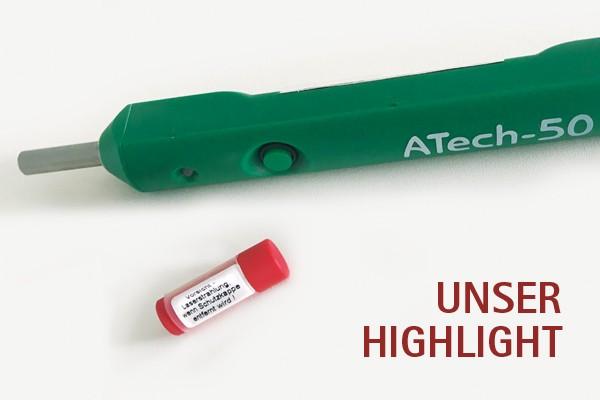 Knop Schutzkappe Lasertherapie für Atech-50 Laser